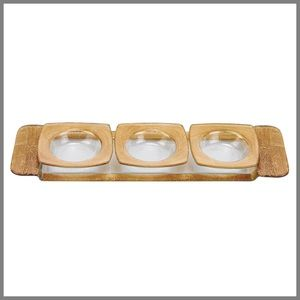 Accessories - NEW HANDCRAFTED Gold 4pc SERVING SETTING SET 🎉